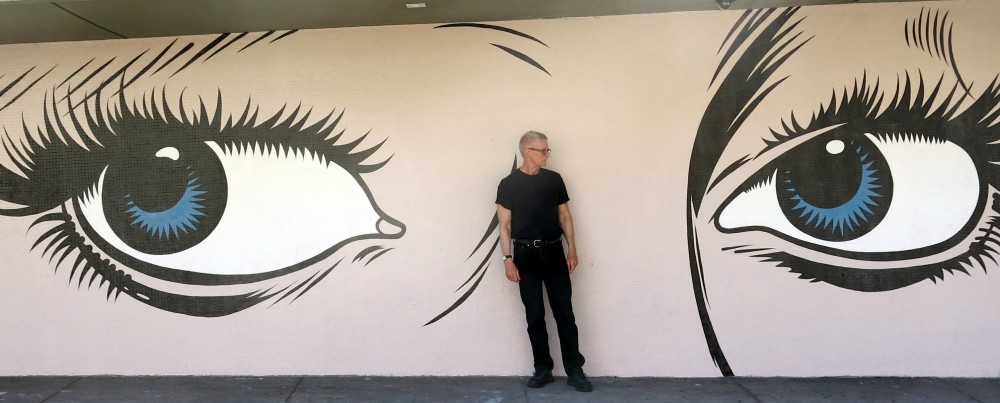 Bruce Critchley's Murals and Me